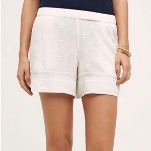 Anthropologie elevenses costa maya lined shorts